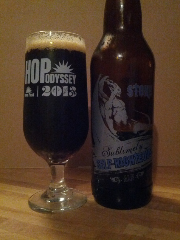 Sublimely Self Righteous Ale.