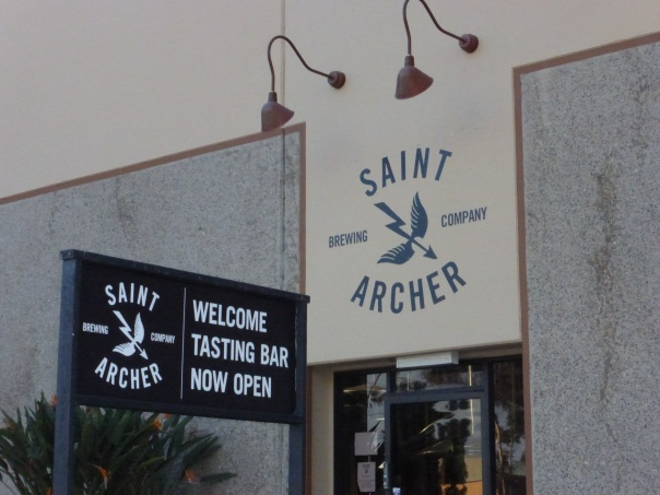 Saint Archer from the outside.
