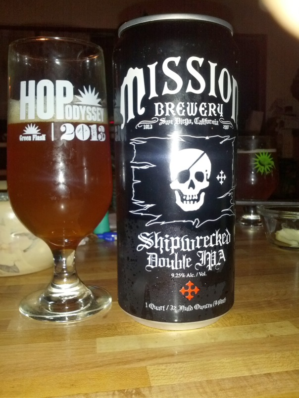 Mission Brewing Shipwrecked Double IPA
