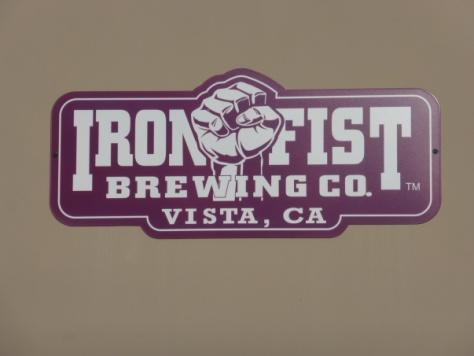 Iron Fist Brewing.
