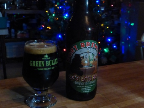 Santa's Little Helper Imperial Stout, Port Brewing Company.