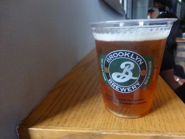 Brooklyn Brewery Double IPA.